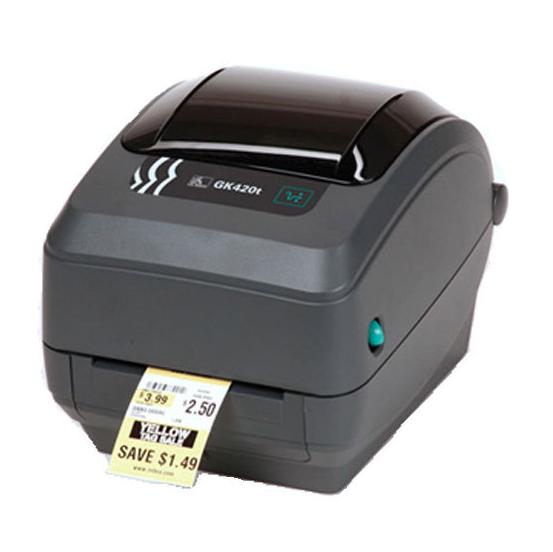 斑马GK420T桌面条码打印机
