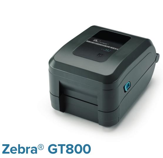 Zebra GT800热敏/热转印桌面条码打印机